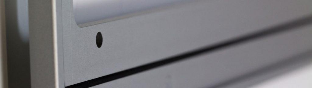 gefräste eloxierte Aluminium Trägerplatte