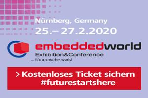 Embedded World 2020 Banner