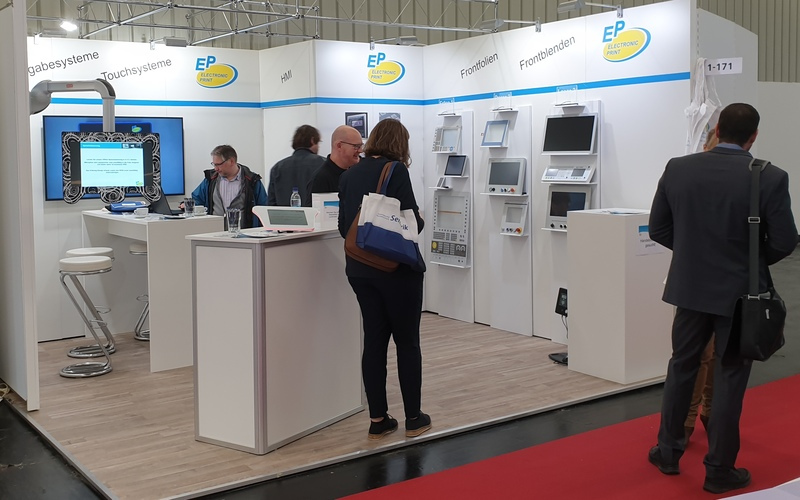 EP Electronic Print Stand Embedded World 2020