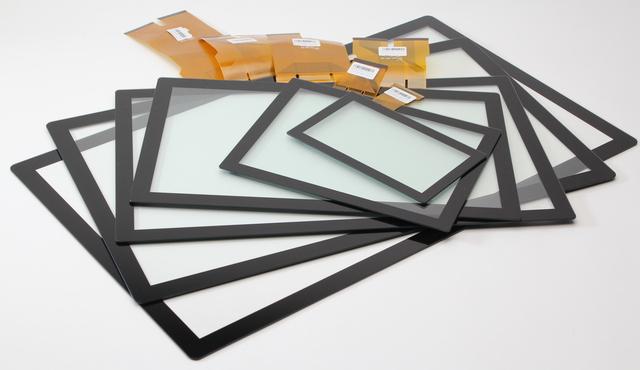 Touchsensoren mit Glas