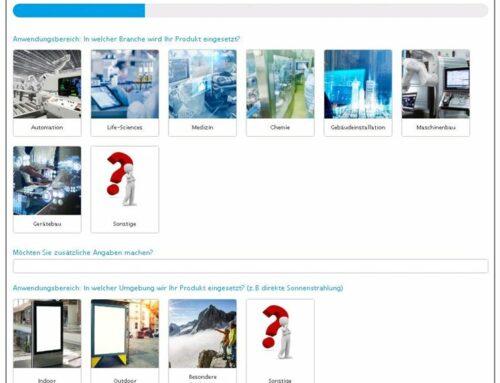 Wir stellen Ihnen unseren Produktkonfigurator vor!